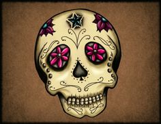 New School Green Day Of The Dead Tattoos For Women | Skull Tattoos skull tattoo for women – Choice Tattoo - Do It!