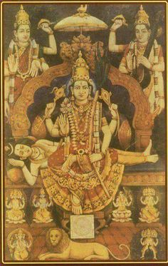 ShreeMaatha ShreeMaharaajni Shreemathsimhasaneshwari