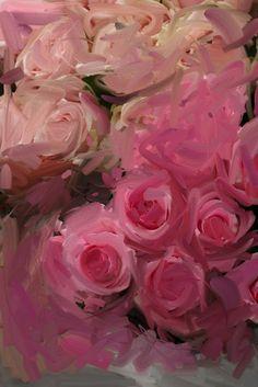 ipad painting by karina allrich (roses)