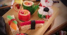 Comment faire des sushis bonbons à la maison!