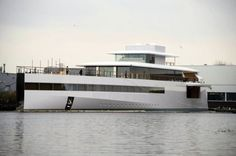 The yacht commissioned by Steve Jobs