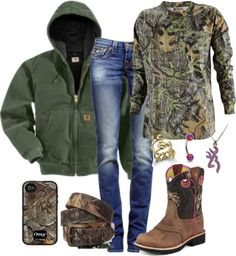 """Outfit of the Day:)"" by backwoods-princess ❤ liked on Polyvore"