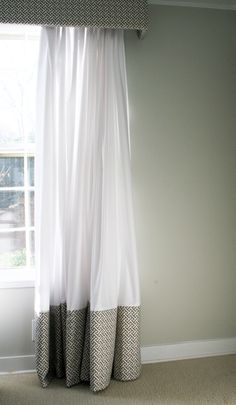 - Southern Exposure - two tone curtain panel
