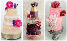 Inšpirácie na unikátne svadobné torty - KAMzaKRÁSOU.sk Wedding Sweets, Wedding Cakes, Perfume Bottles, Beauty, Wedding Candy, Wedding Gown Cakes, Cake Wedding, Perfume Bottle, Wedding Cake