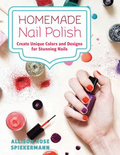 MAKE YOUR OWN NAIL POLISH COLORS TO CREATE PERSONALIZED, CUSTOMIZED LOOKS JUST FOR YOUThe best way to get a marvelous mani? Make your own dazzling polishes! With this book and some imagination, you'll be whipping up gorgeous polishes in no time. Learn how to: Fashion vibrant crèmes, shimmers and shadesSparkle with glamorous glitterCraft adorable labels and giftsPaint perfect patterns withpro tricksStyle one-of-a-kind nail art Whether you are looking to match your nails with a specific dress…