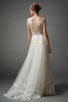 Watters Brides Lalai Gown back aka The Perfect Dress