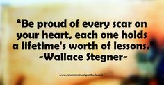 Image of quote from Wallace Stegner
