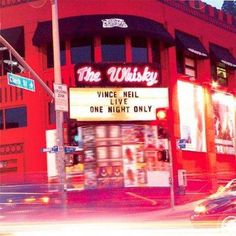 Vince Neil - Live at the Whiskey, Black