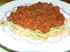 Sauce à spaghetti de ma belle-mère lucette de Baddy