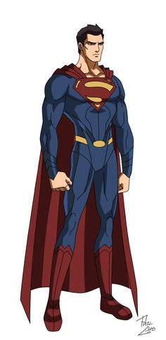 Man of Steel by phil-cho on DeviantArt