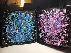 "317 Likes, 15 Comments - Angelika Grudzińska ❤️ (@angelka2601) on Instagram: "" Imagimorphia  @kerbyrosanes #imagimorphia #coloringbook #colouring #coloring…"""