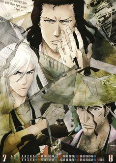 Bleach: Stark, Ukitake & Kyoraku *sigh*