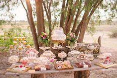 Rochelle and Gordon's Rustic Outdoor Wedding