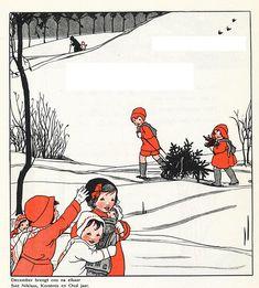 Rie Cramer Het jaar rond editie 1978 ill december wintermaand | by janwillemsen