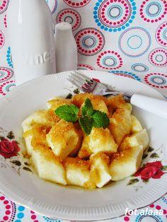 Ala piecze i gotuje: Kopytka z serem