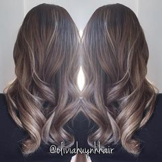 Balayage ombré I did on Aydee. She wanted to go lighter with a more ashy/ beige tone. #hairstylist #Balayage #ombre #colorist #blonde #summerhair