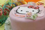 Hello Kitty-kakku 10 henkeä Hello Kitty Cake, Mole, Betty Boop, Beautiful Cakes, Bakery, Character, March, Pretty Cakes, Mole Sauce