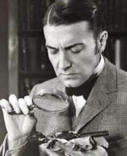 Clive Brook as Sherlock in the 'Return of Sherlock Holmes' (1929) The first time Sherlock spoke on film!
