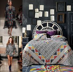 Home product trends reflect fashion trends. Tribal Patterns take Interiors by Storm