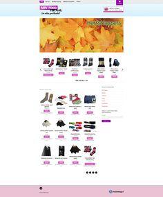 Webwinkel van NonFood Totaal met iDEAL betalingsmogelijkheid. Achter de schermen draait een nieuwsbriefmodule om eenvoudig een nieuwsbrief te kunnen versturen. www.nonfoodtotaal.nl
