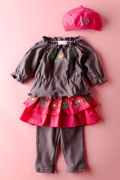 infant outfit from chit chat