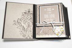 "Oct 2014 Kaisercraft ""After Five"" - Elegant Wedding Scrapbook Album by S Paper Creations"