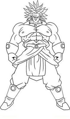 Dragon Ball Z Ausmalbilder. Malvorlagen Zeichnung druckbare nº 78