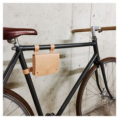 Bicycle bag by Anchorgoods on Etsy https://www.etsy.com/listing/226811165/bicycle-bag