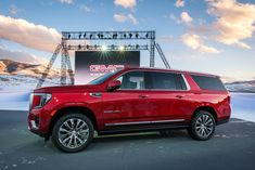 Check out a photo album of 2021 GMC Yukon XL Denali pictures. This 2021 GMC Yukon XL Denali wears red paint and has an extended wheelbase. Ford Mustang Gt500, Shelby Gt500, Nissan Gt R, Nissan 370z, Jeep Wrangler Rubicon, Jeep Wrangler Unlimited, Porsche Macan Turbo, Hyundai Genesis Coupe, Hyundai Veloster
