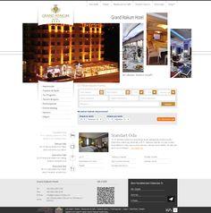 Grand Atakum Hotel | Web Design