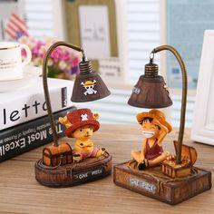 Japan Anime One Piece Monkey D Luffy Chopper LED Lamp PVC Action Figur - Daily Otaku Things