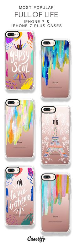 Most Popular Colourful iPhone 7 Cases & iPhone 7 Plus Cases here > https://www.casetify.com/ettavee/collection?