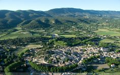 Village of Cucuron in Luberon National Park