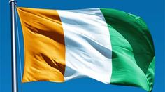 This is NOT the flag of Ireland, but rather, it is the flag of the Ivory Coast. A true Irish flag must always be flown with the green segment closest to the flag staff.