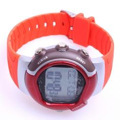 BestDealUSA Multi-function Pulse Heart Rate Monitor Calories Counter Wrist Watch Red by BestDealUSA. $6.85. Specifications:      * Real Time Mode / Daily Alarm Mode / Pulse Mode / Exercise Mode.     * Continuous Heart Rate Reading in a while with the indication of instant heart rate changing.     * Exercise Heart Rate measure and Resting Heart Rate measure modes.     * Analyst the Heart Rate and calculate the Calories Burnt after exercise.     * Exercise Intensit...
