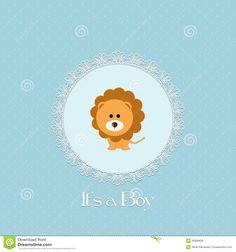 baby shower lion