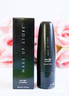 Make Up Stores Ultra Light Foundation in the color Leche