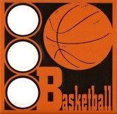 EZLaserDesigns : Basketball Circles  scrapbook overlay sports layout