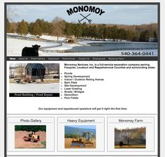 Home and Garden WordPress Website Design - http://www.fauquierexcavating.com -- Herbst Marketing developed this WordPress website on the Small Biz Word Press Theme for Monomoy Services Inc. in Marshall, VA. Monomoy provides farm excavation services, well and spring development, site preparation and snow removal services in and around Fauquier, Rappahannock and Loudoun Counties, Virginia.  For more information about WordPress website development services visit http://www.herbstmarketing.com