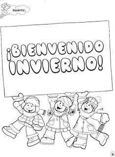 Menta Mas Chocolate Recursos Y Actividades Para Educacion Infantil Carteles Y Rotulos De Invierno Invierno Educacion Infantil Actividades