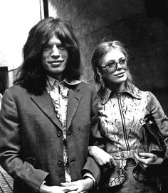 Mick Jagger and Marianne Faithfull, 1969