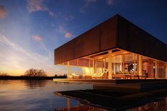 Creating floating homes, designed and built in The Netherlands, to introduce a…