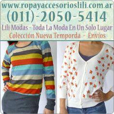 ¡Ropa y Accesorios publicados en Vivavisos! http://ropa-usada.vivavisos.com.ar/accesorios-usados+balvanera/lili-modas-ropa-de-mujer-y-hombre-fabrica-remeras-sweaters/45473426