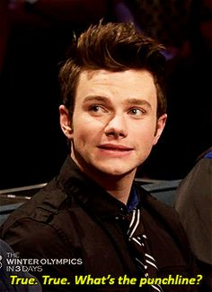 Chris Colfer is my favorite