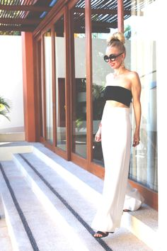 currently crushing, aqaq white margerita trousers