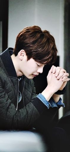 Lee Jong Suk. Let's all take a minute to pray today. #Pray