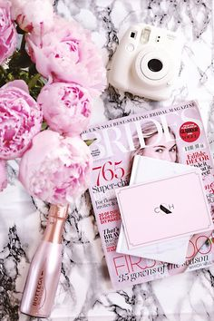 Flatlay, Pink Flatlay, Wedding Flatlay, how to take flatlays, flatlay inspiration, pink, girly, peonies, wedding,flatlay inspiration, blog photography, instagram