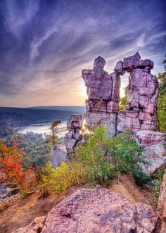 Devil's Doorway, Devil's Lake State Park, Wisconsin