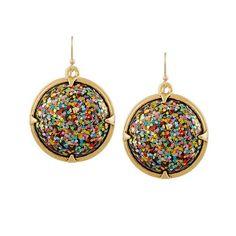 Lulu Frost Audrey gold-plated cabochon earrings, $200 net-a-porter.com