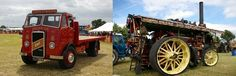 Vintage vehicles and team engines galore at Kelsall Steam Rally 2012  held by owner of GA Newsome Haulage